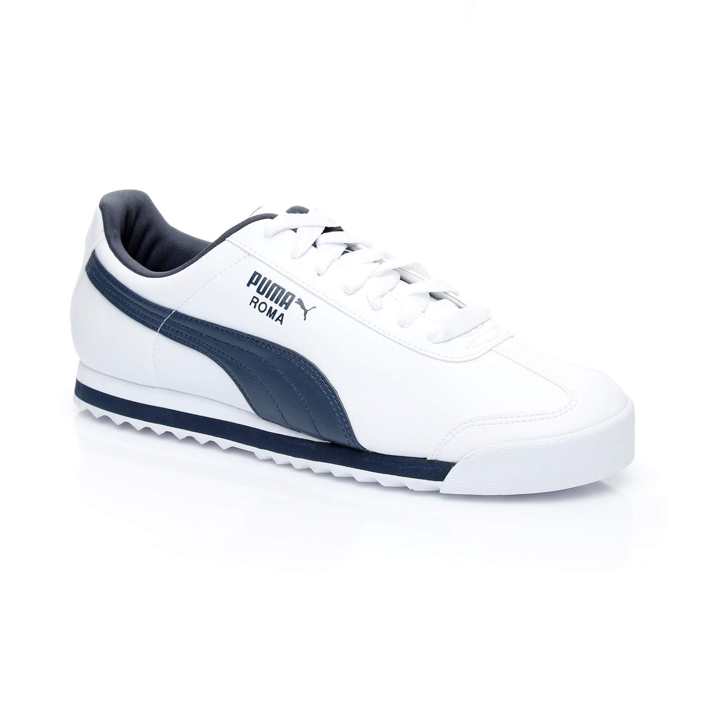 Puma Roma Basic Erkek Beyaz Sneaker 353572   Occasion