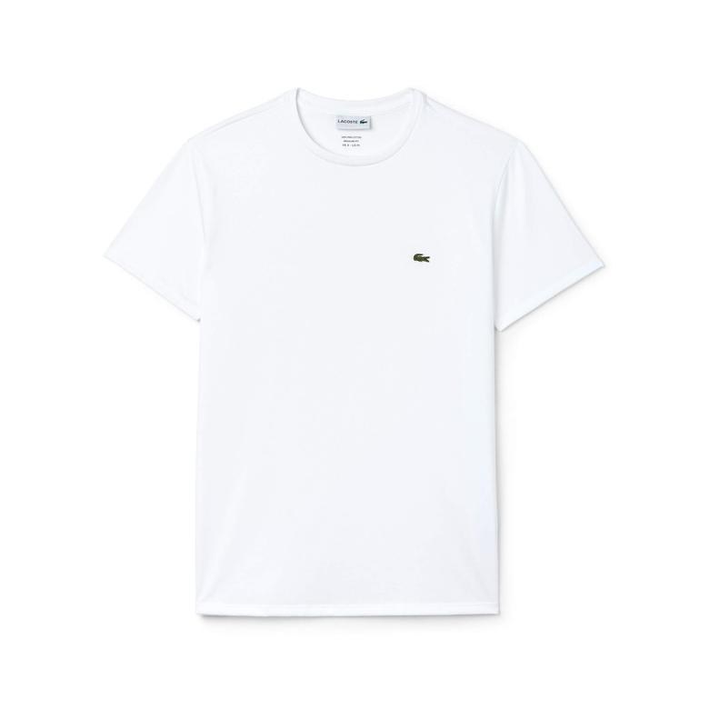 Lacoste Motion Erkek Beyaz T-Shirt