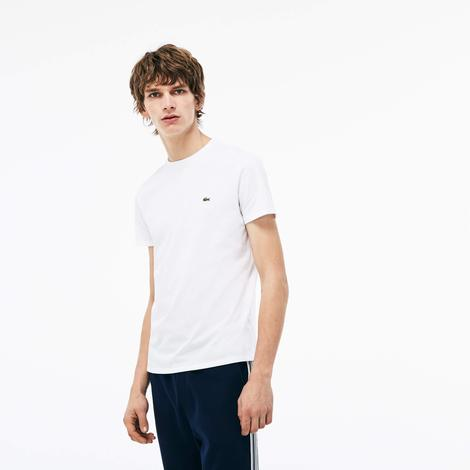 Lacoste  Erkek Beyaz Tshirt