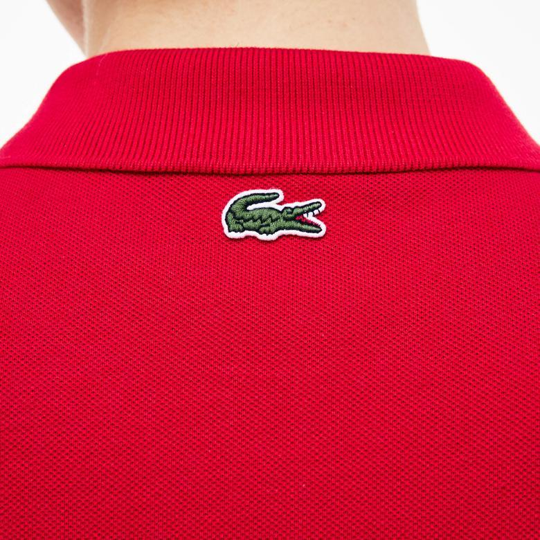 Lacoste Erkek Kırmızı Regular Fit Kısa Kollu Polo
