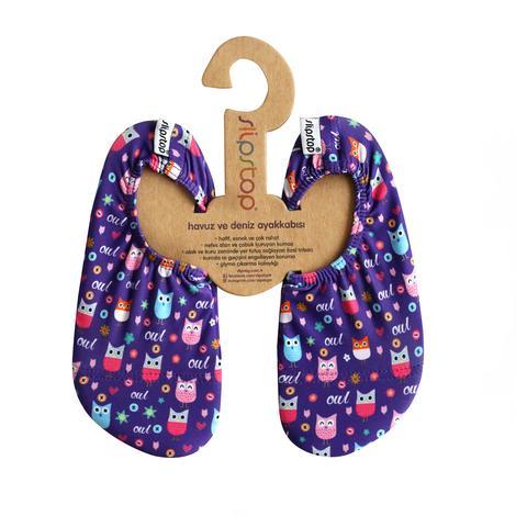 Slipstop Button Renkli Çocuk Havuz Ayakkabısı