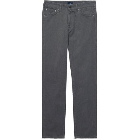 Gant Twill Jean Erkek Gri Pantolon