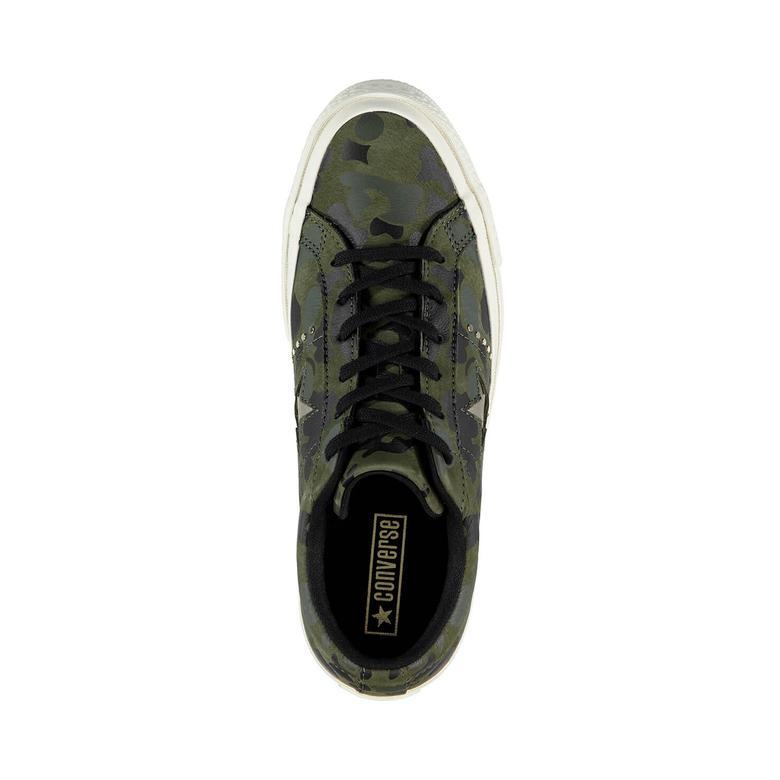 Converse One Star Kadın Yeşil Sneaker