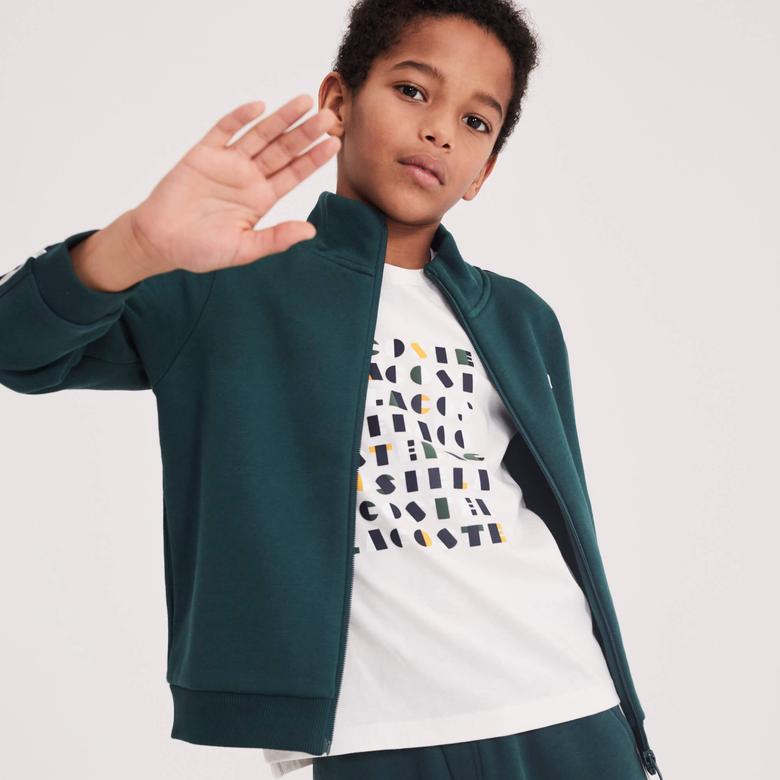 Lacoste Çocuk Beyaz T-Shirt