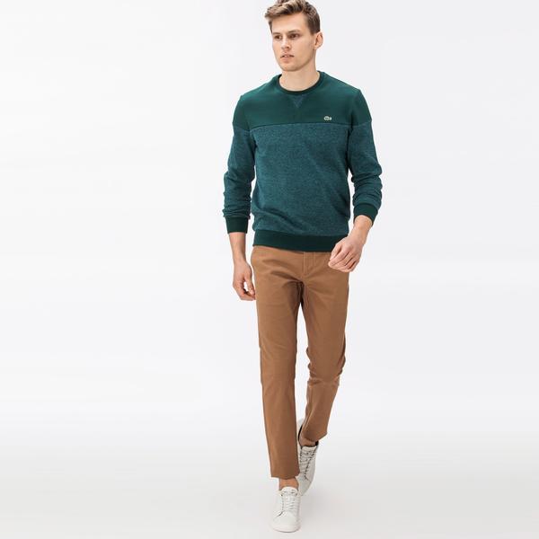 Lacoste Erkek Desenli Kahverengi Pantolon