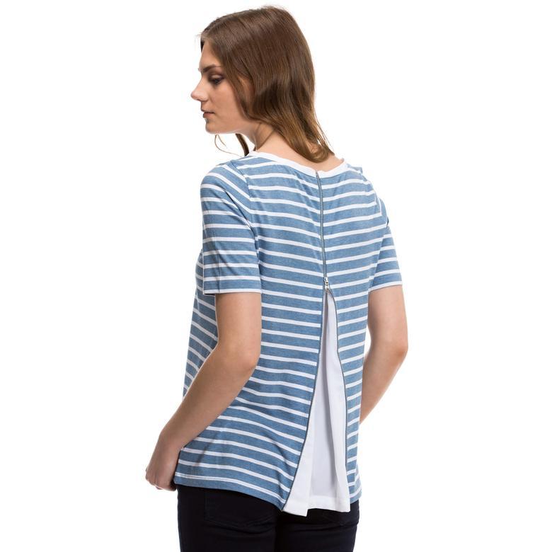 Nautica Kadın Mavi T-Shirt