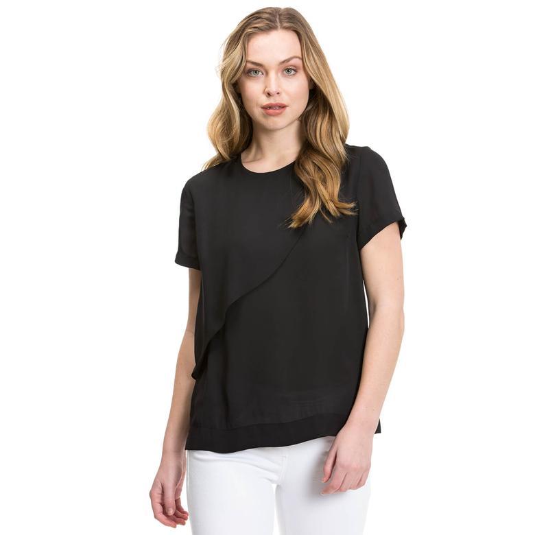 Nautica Kadın Siyah Bluz