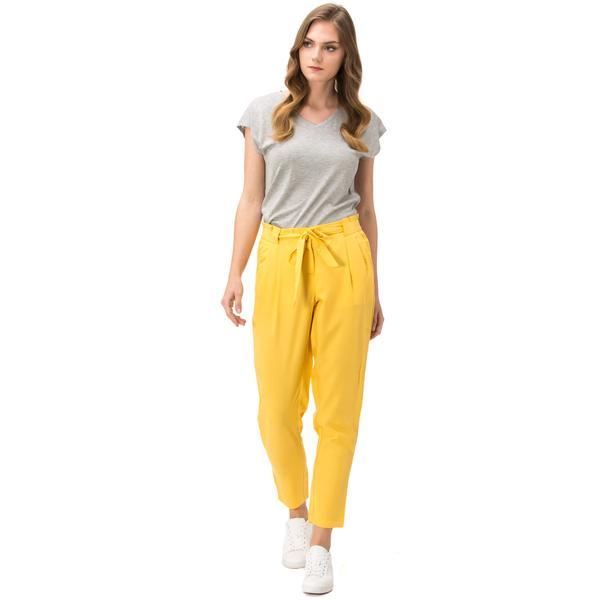Nautica Kadın Sarı Pantolon