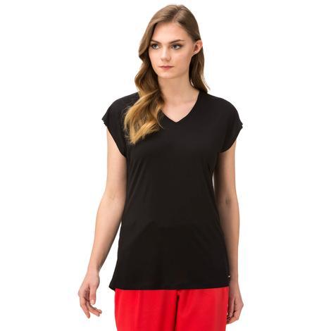 Nautica Giyim Siyah Tshirt