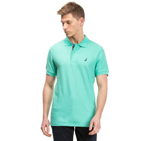Nautica Erkek Yeşil Klasik Fit Polo