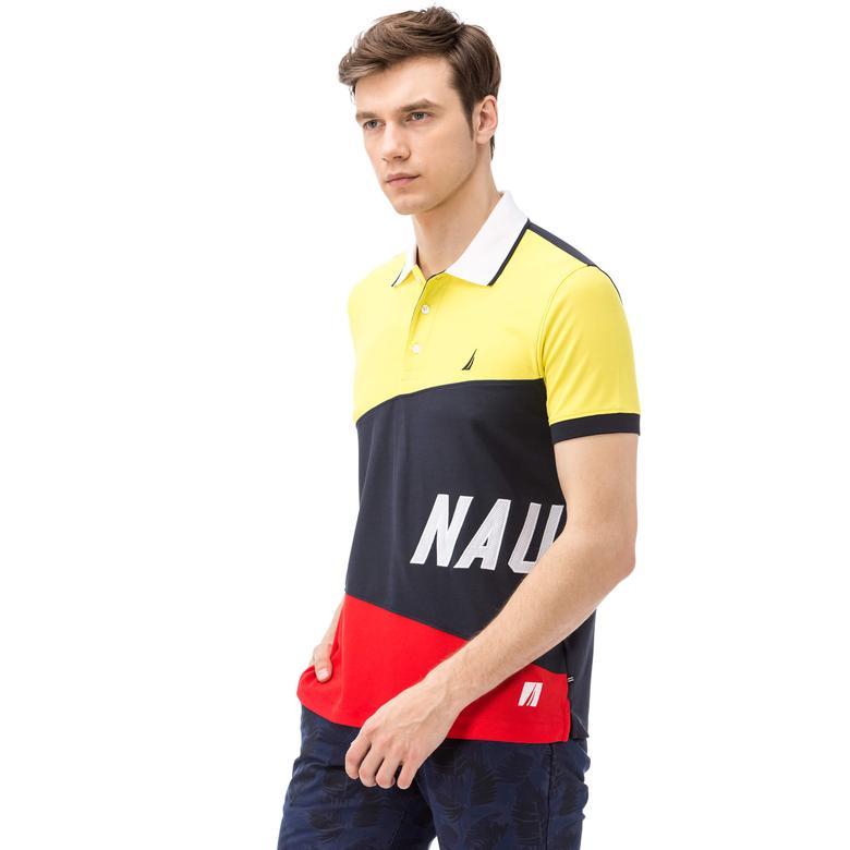 Nautica Erkek Lacivert Slim Fit Polo