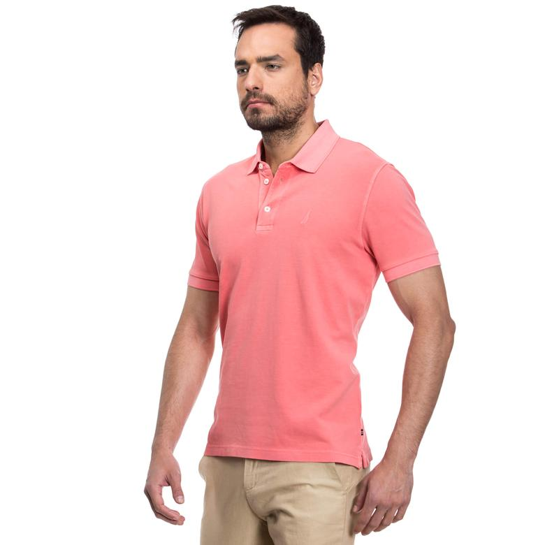 Nautica Erkek Turuncu Regular Fit Polo