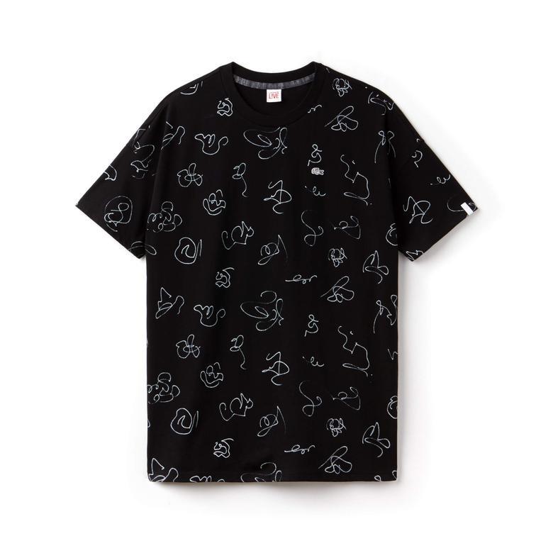 Lacoste Kadın Siyah T-Shirt