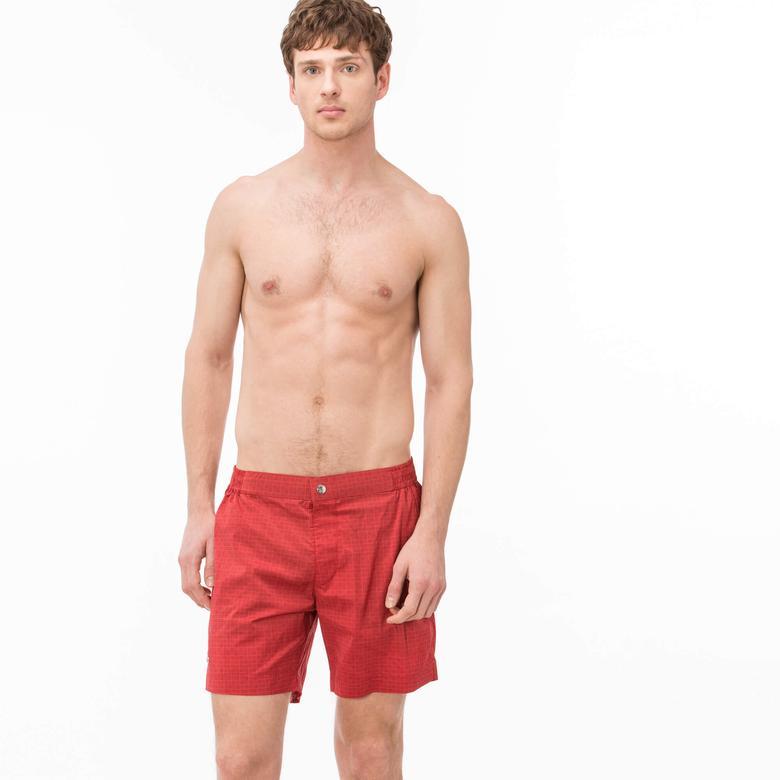 Lacoste Erkek Kırmızı Mayoşort
