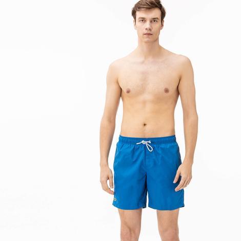 Lacoste Erkek Mavi Deniz Şortu