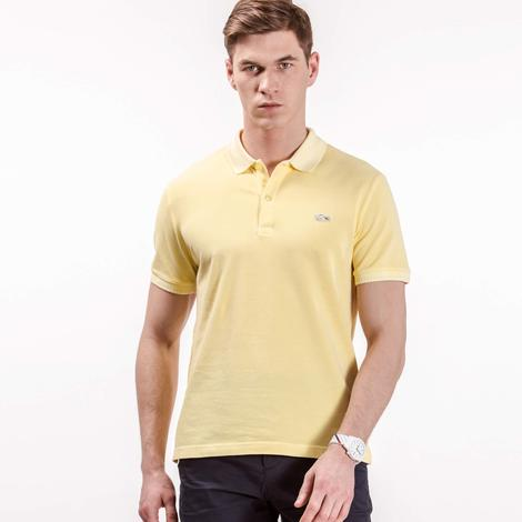 Lacoste Erkek Sarı Slim Fit Polo