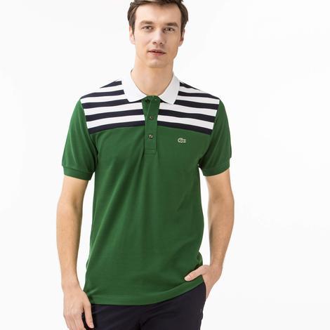 Lacoste Erkek Yeşil Regular Fit Polo