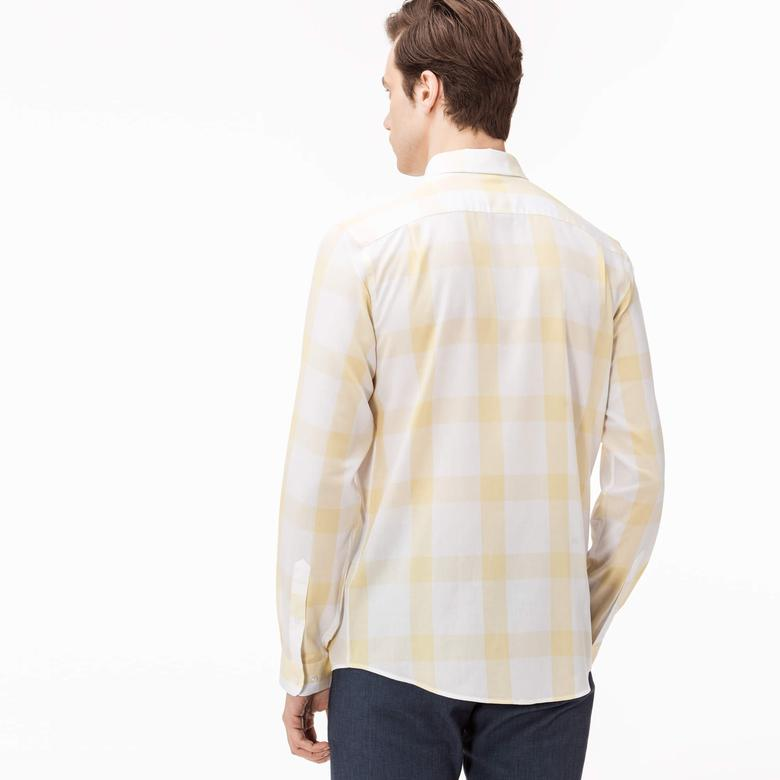 Lacoste Erkek Sarı Gömlek