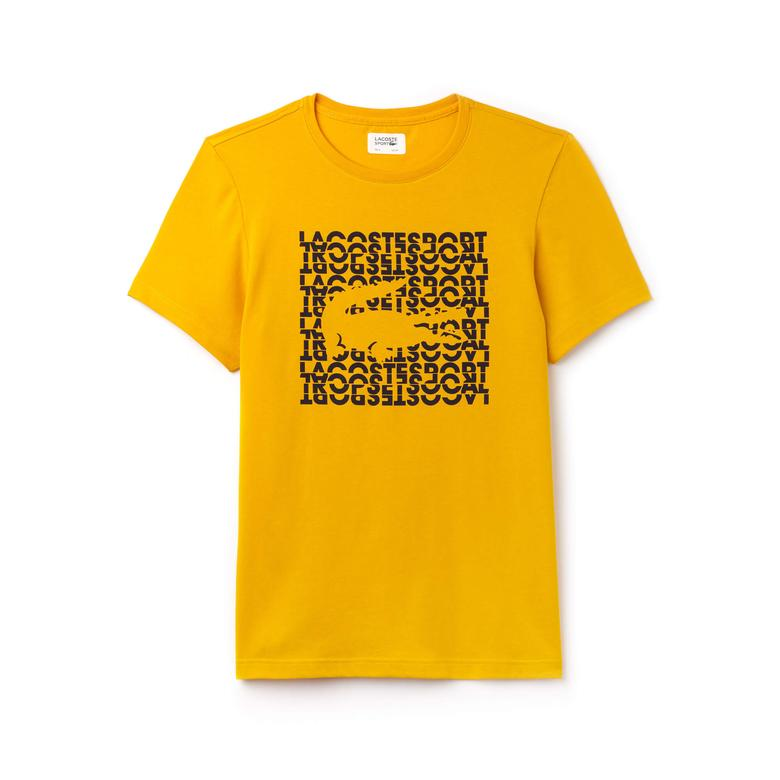 Lacoste Erkek Sarı T-Shirt