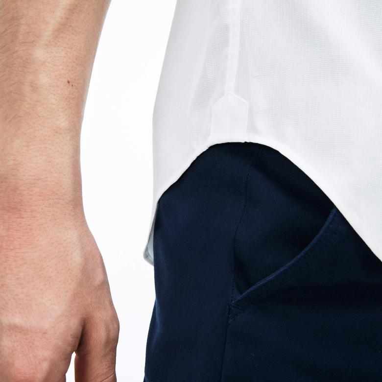 Lacoste Erkek Beyaz Regular Fit Gömlek
