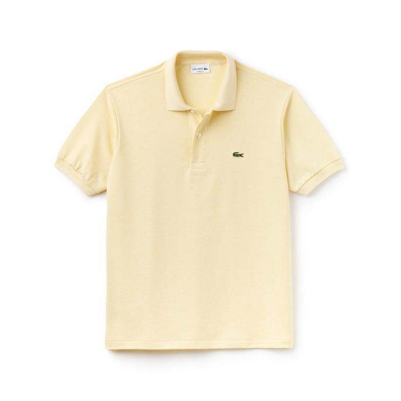 Lacoste Erkek Klasik Fit Sarı Polo