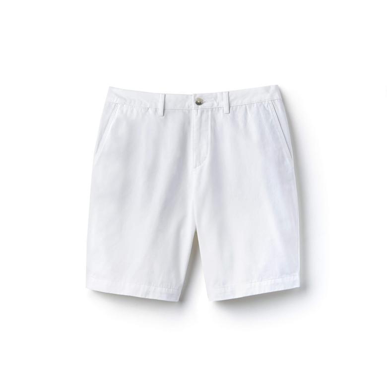 Lacoste Erkek Beyaz Şort