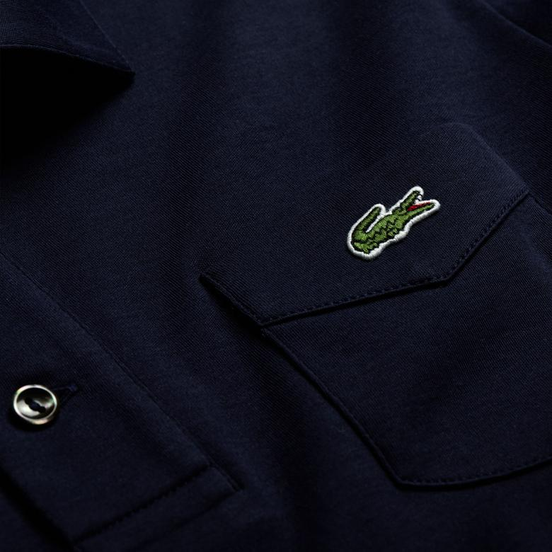 Lacoste Unisex Lacivert Polo