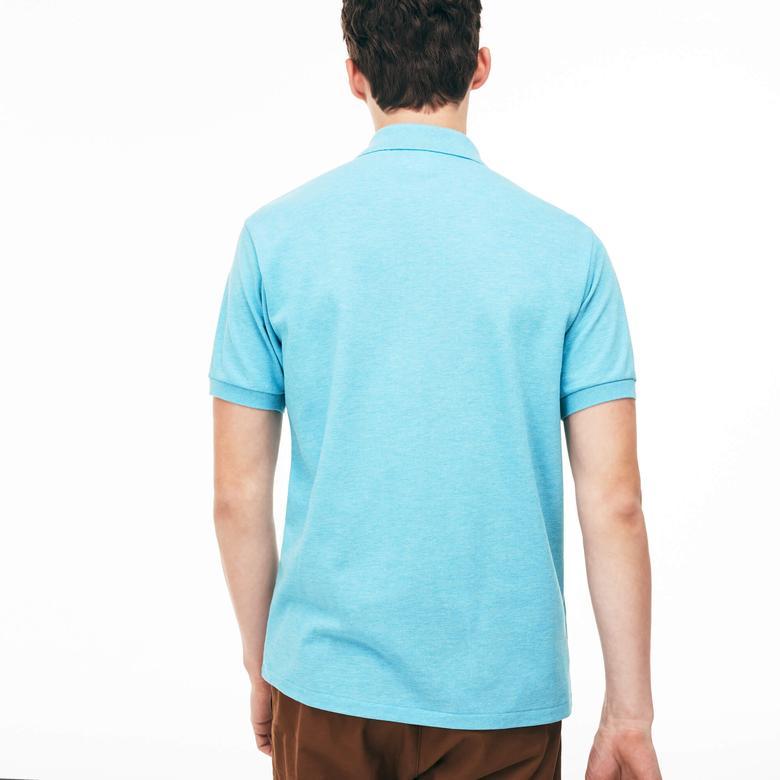 Lacoste Erkek Klasik Fit Mavi Polo