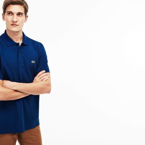 Lacoste Erkek Lacivert L1212 Klasik Fit Polo