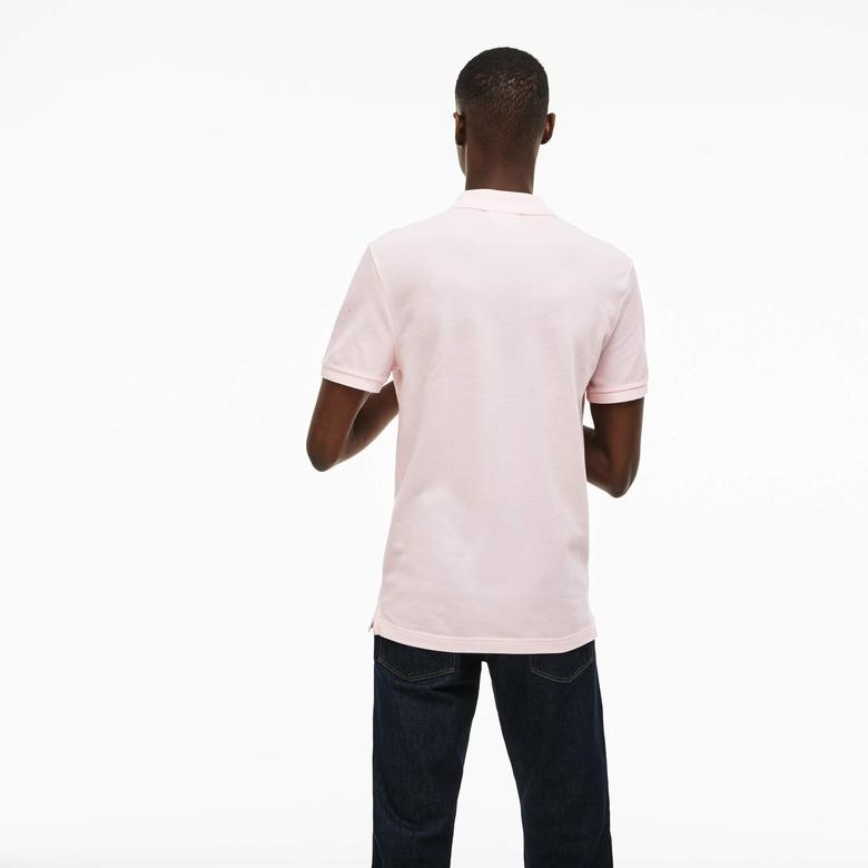 Lacoste Erkek Slim Fit Pembe Polo