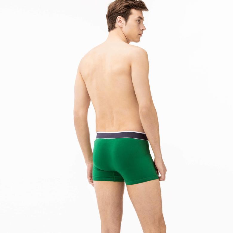 Lacoste Erkek 2'li Renkli Boxer Seti
