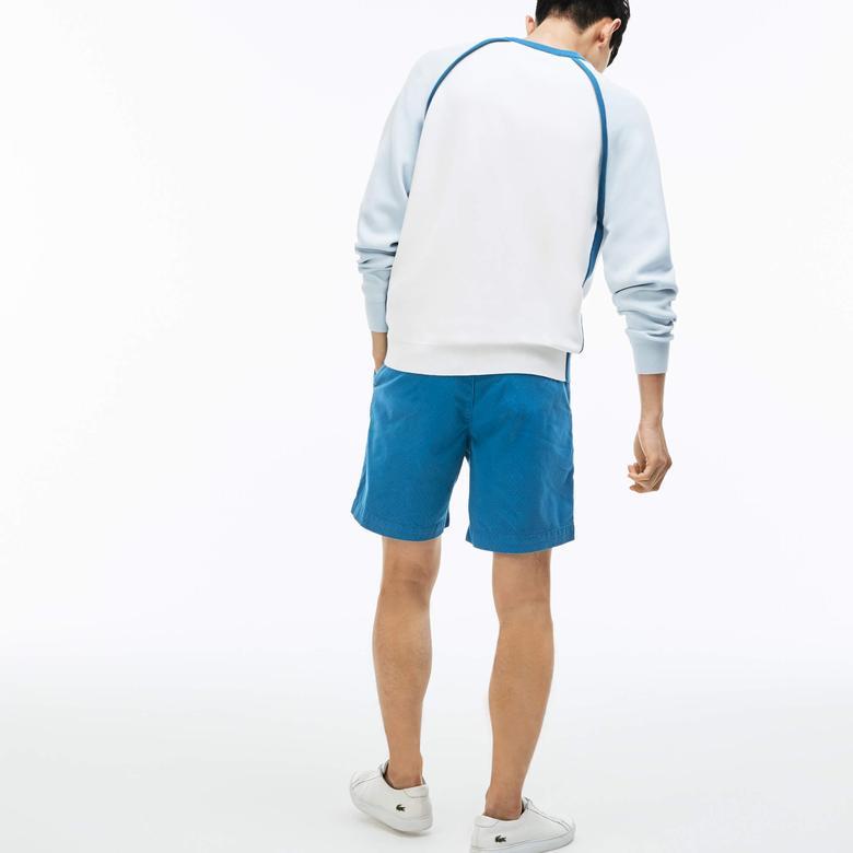 Lacoste Erkek Mavi Şort