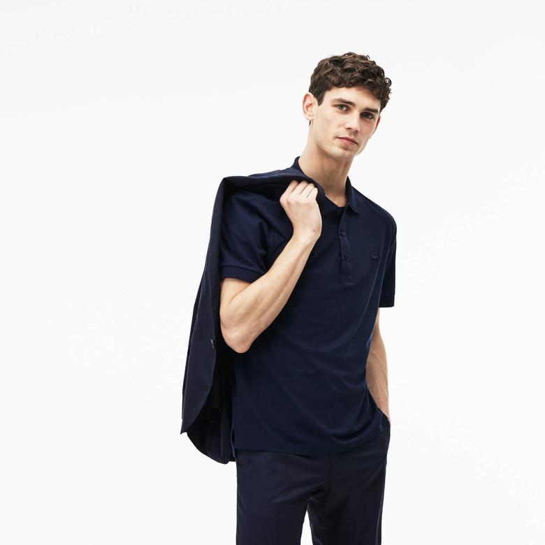 Lacoste Erkek Lacivert Regular Fit Polo