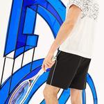 Lacoste Erkek Novak Djokovic Siyah Spor Şort