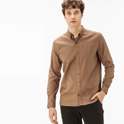 Lacoste Erkek Kahverengi Gömlek