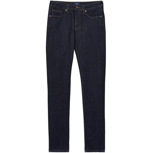 Gant Kadın Lacivert Slim Fit Pantolon