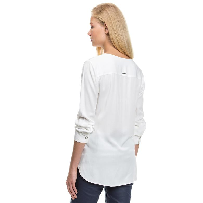 Nautica Kadın Bej Bluz