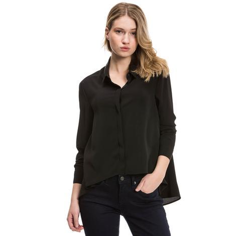 Nautica Kadın Siyah Regular Fit Bluz