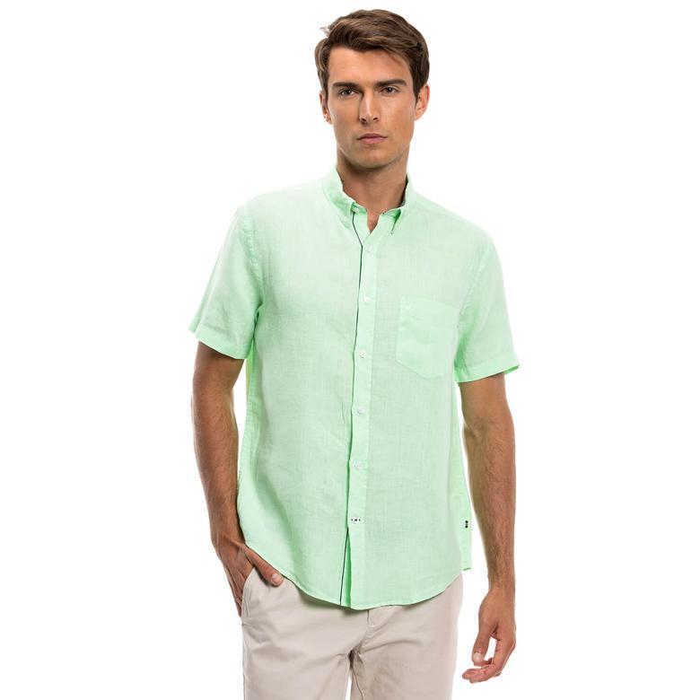 Nautica Erkek Yeşil Gömlek