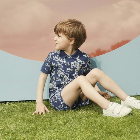 Lacoste Çocuk Lacivert Polo