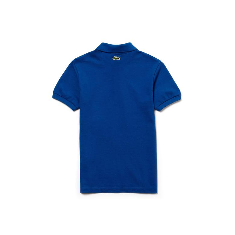 Lacoste Çocuk Mavi Polo