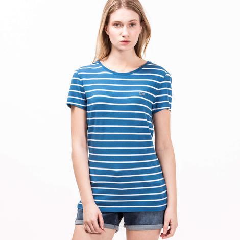 Lacoste Kadın Mavi Bluz