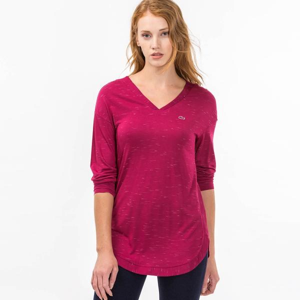 Lacoste Kadın Pembe Tshirt