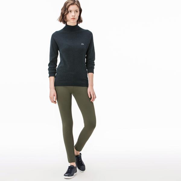 Lacoste Kadın Streç Yeşil Pantolon