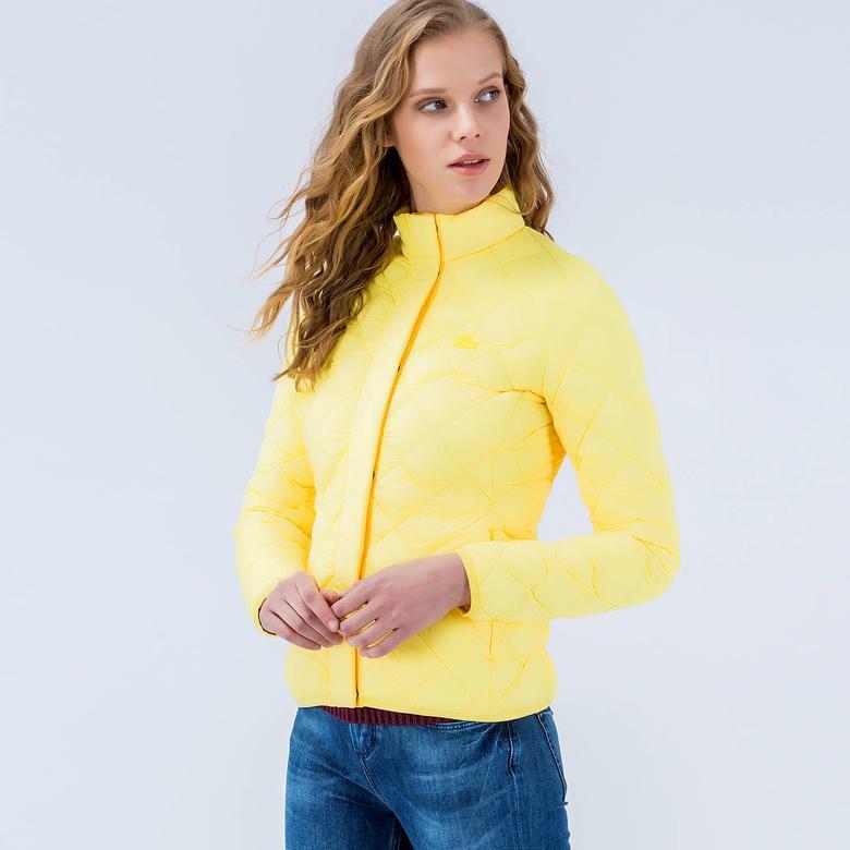 Lacoste Kadın Sarı Mont