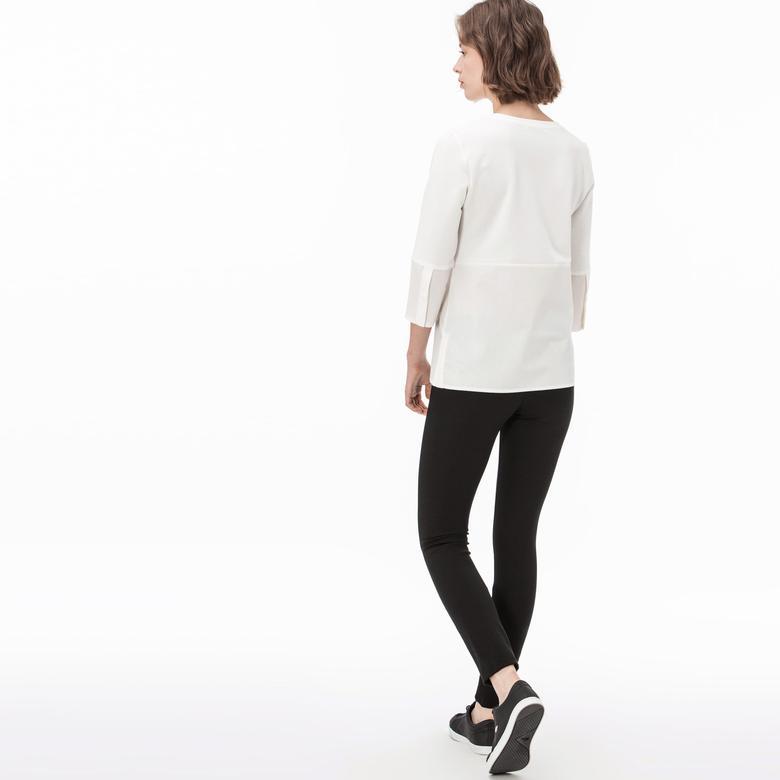 Lacoste Kadın Streç Siyah Pantolon