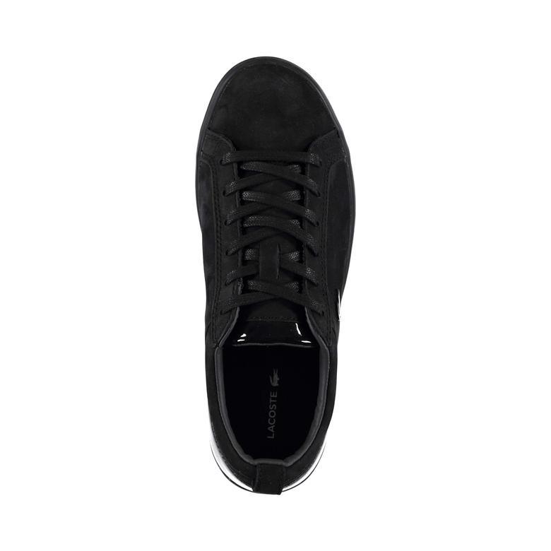 Lacoste Straightset 318 1 Kadın Siyah Sneaker