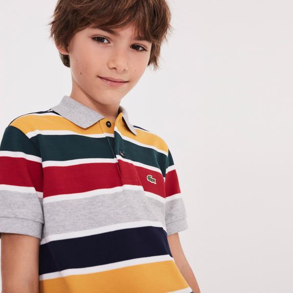 Lacoste Çocuk Renkli Polo