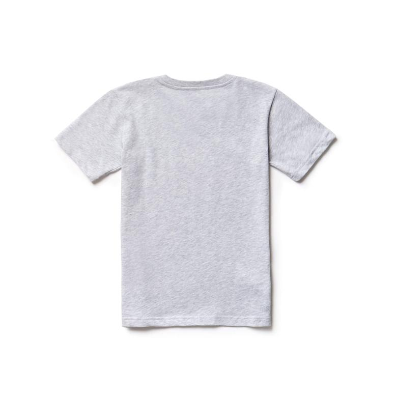 Lacoste Çocuk Gri T-Shirt