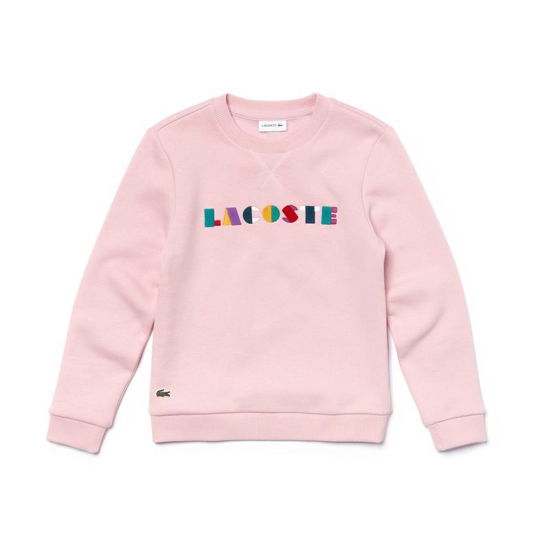 Lacoste Çocuk Pembe Sweatshirt